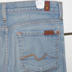 7 For all Mankind womens boot jeans size 27 -9037